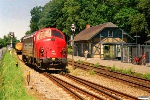 CFLCD MY 1154 løber om på G 6079 Rg-Frs. Fruens Bøge 20.07.2007.