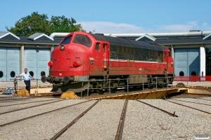CFLCD MX 1029 vendes på skiven i Odense pga. defekt frontrude. 07.08.2009.