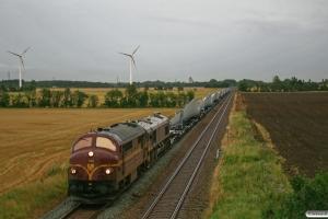 CFLCD MX 1023+T66K 714+18 v-144 x (9 vinger) som CG 6622 Pa-Es. Km 7,0 Lk (Lunderskov-Vejen) 30.08.2012.