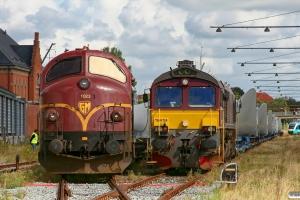 CFLCD MX 1023 og T66K 714. Esbjerg 30.08.2012.