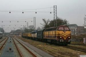 CFLCA 1807+EEWSS Hbillns 23 56 2275 106-5+CFLCD MY 1146+Speno slibetog+RBSA 92 80 1271 009-3. Odense 27.02.2013.