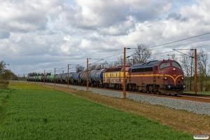 CFLCD MY 1146+CFLCA 1814 med CG 6151 Tl-Pa. Km 54,4 Fa (Sommersted-Vojens) 25.04.2017.