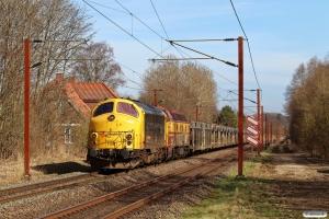 RSEJ MY 1159+CFLCD 1831 med CF 7213 Rg-Vm. Km 26,8 Fa (Kolding-Lunderskov) 30.03.2021.