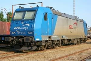 CFL Cargo 185 523-8. Padborg 01.06.2008.