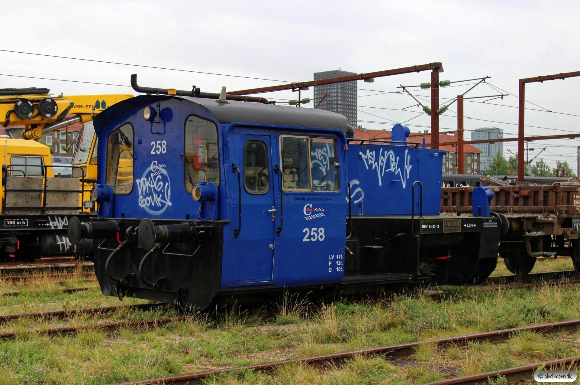 CRSA Køf 258. København 12.08.2017.