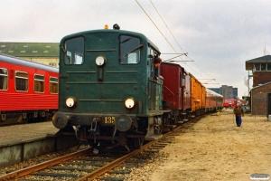 DSB Traktor 135+EH 6762+80 86 98-20 006-6 og MR/D 07. Odense 04.03.1991.
