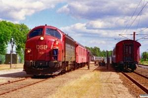 DSB MY 1131 rangerer. Marslev 03.08.1996.
