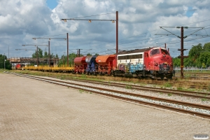 RCDK MY 1134+Fcs+Fccpps+Fcs+10 Res+BBL Lok 07 (203 119-3) som RG 6104 Fa-Gl. Glostrup 10.07.2011.