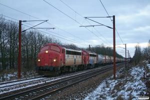 RCDK MY 1134+MY 1122 med RG 6614 Pa-Tl. Vejbæk 23.01.2013.
