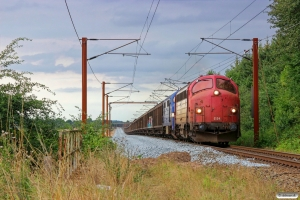 RCDK MY 1134+CONTC MX 1008 med RG 6211 Tl-Pa. Km 55,7 Fa (Sommersted-Vojens) 05.08.2014.