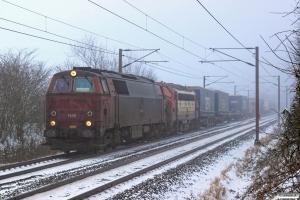 NEG MZ 1439+RCDK MY 1134 med RG 41550 Pa-Htå. Km 165,0 Kh (Odense-Holmstrup) 23.01.2016.