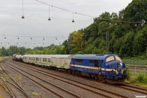 CONTC MX 1008+Weedfree sprøjtetog+NEG MY 1148. Fredericia 22.07.2017.