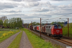 DSB MZ 1401 med VM 6440 Pa-Od. Km 193,0 Kh (Gelsted-Ejby) 03.05.2020.