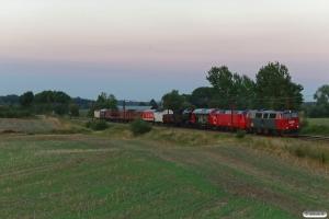 DSB MZ 1401+EA 3004+MY 1112+S 736 med VM 6607 Od-Rd. Km 172,6 Kh (Holmstrup-Tommerup) 19.08.2020.