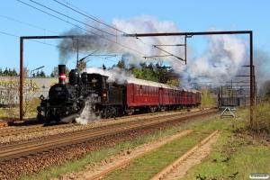 DSB K 563+CLE 1678+CC 1132+AX 393+G 40033 som VP 222201 Od-Fa. Km 162,2 Kh (Odense-Holmstrup) 22.04.2016.