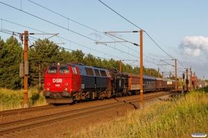 DSB MZ 1401+S 736+CPL 3255+WLABmh 819+DB 5101+AC 42+BU 3703+AX 393+CC 1132 som VM 6306 Ro-Od. Km 130,2 Kh (Sprogø-Nyborg) 03.08.2017.