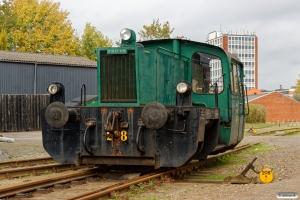 DSB Køf 288. Odense 13.10.2017.