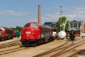 DSB MY 1159, Traktor 48, MZ 1401, MY 1112 og Hs 415. Odense 16.05.2018.