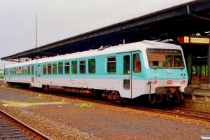 DB 628 210-7+928 210-4 som Tog 5140. Husum 15.06.1991.