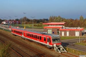 DB 628 450+628 950. Niebüll 13.11.2016.