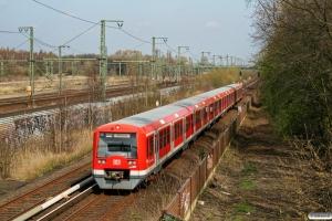 DB 474. Hamburg-Wilhelmsburg 12.04.2008.