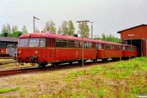 DB 998 888-2+998 289-3+798 630-0. Husum 15.06.1991.