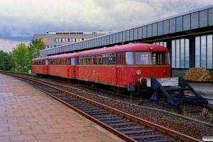 DB 998 893-2+998 063-2+798 776-1. Neumünster 07.10.1989.