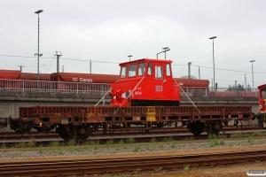 DB ASF 303 læsset på Kls-x vogn. Maschen 27.04.2013.