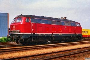 DB 218 107-1. Padborg 01.07.1988.