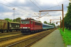 DB 155 187-8 med Lr 32185 Flensburg-Pa. Padborg 11.09.1997.