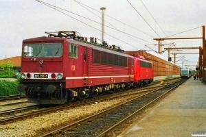 DB 155 155-5+140 346-8 - Maskiner fra GD 45760. Padborg 11.09.1997.