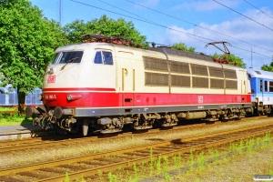 DB 103 185-5 med IP 2181 Fa-Hannover Hbf. Padborg 08.07.1999.