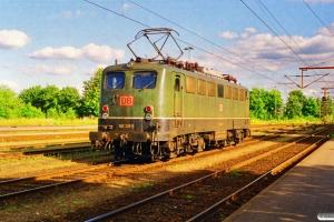 DB 140 381-5 - Lok fra GD 45760. Padborg 08.07.1999.