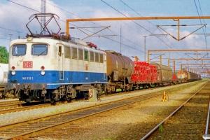 DB 140 613-1 med GD 40747. Padborg 20.08.1999.