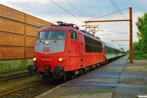 DB 103 244-0 med IP 2182 Hannover Hbf-Fa. Padborg 20.08.1999.