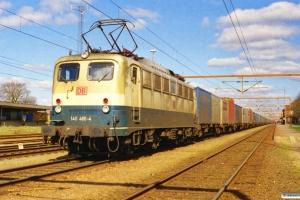 DB 140 466-4 med GD 42202. Padborg 05.04.2000.
