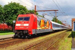 DB 101 035-4 med IP 2183 Fa-Hannover Hbf. Padborg 29.06.2001.