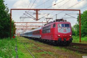 DB 103 135-0 med IP 2185 Fa-Hannover Hbf. Padborg 29.06.2001.