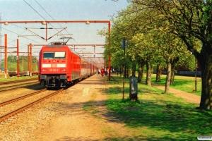 DB 101 123-8+Ampz+WRmz+6 Bmz som EC 371. Padborg 11.05.2006.