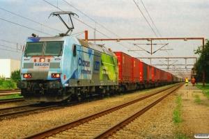 DB 185 152-6 med GD 44715. Padborg 10.08.2007.