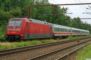DB 101 088-3+3 Bimz+Apmz. Erstatningsmateriel for BR 605. Padborg 26.06.2009.