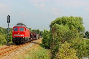 DB 232 259-2 med GD 138705 Es-Tdr. Km 15,9 Bm (Ribe Nørremark-Ribe) 02.08.2014.