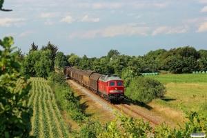 DB 232 534-8 med GD 138715 Es-Tdr. Km 9,2 Bm (Gredstedbro-Ribe Nørremark) 02.08.2014.