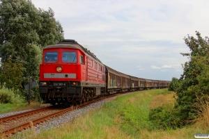 DB 232 587-6 med GD 138708 Tdr-Es. Km 38,6 Bm (Skærbæk-Døstrup) 04.08.2014.