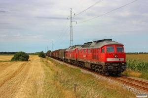 DB 232 534-8+232 469-7 med GD 138711 Es-Tdr. Km 57,0 Bm (Visby-Tønder Industrispor Nord) 04.08.2014.