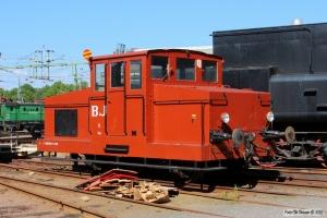 BJ Zm 5. Sävenäs Lokstation 08.06.2014.