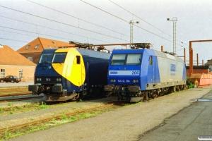 RDK EG 3111 og RAG 145-CL 206. Padborg 01.08.2002.