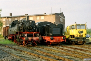 DB 64 446, DB V 20 036 og Klv 53 076-3. Neumünster 24.09.2005.