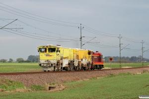BV DLL 3101B+DLL 3109E+SJ T42 205 solo som RST 29860. Åstorp - Ängelholm 14.05.2010.