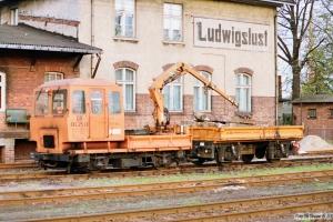 DR SKL 25 LK (KL 4054)+AF 108. Ludwigslust 16.10.1990.